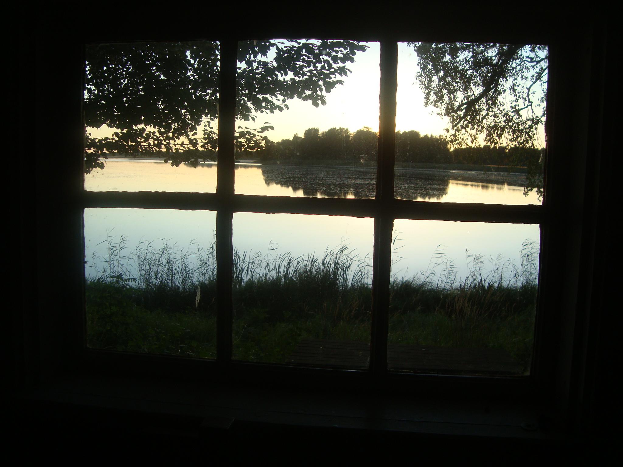 Utsikt från Hovstugan. Foto Bertil G